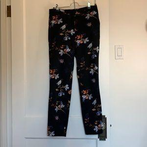 Topshop floral dress pants
